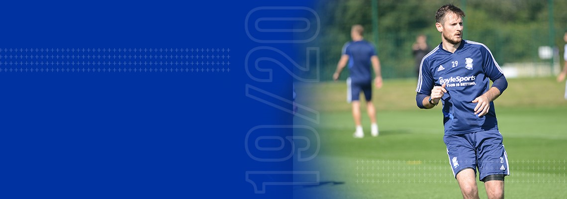 Jonathan Grounds is back in full training