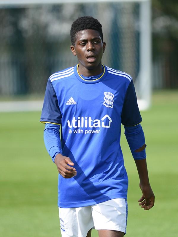Marcel Oakley - defender - U18s