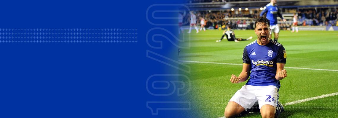 Alvaro Gimenez celebrates scoring on his full debut