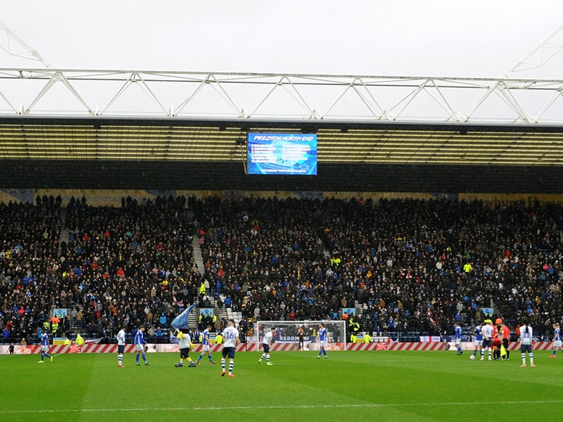 More than 5,000 Blues fans made the trip to Preston's Deepdale in March.