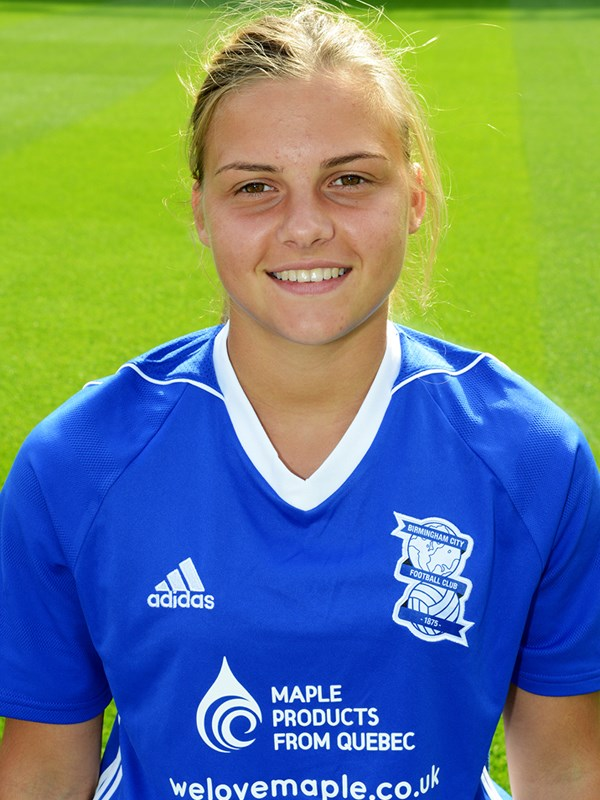 8 - Sarah Mayling - midfielder - Ladies