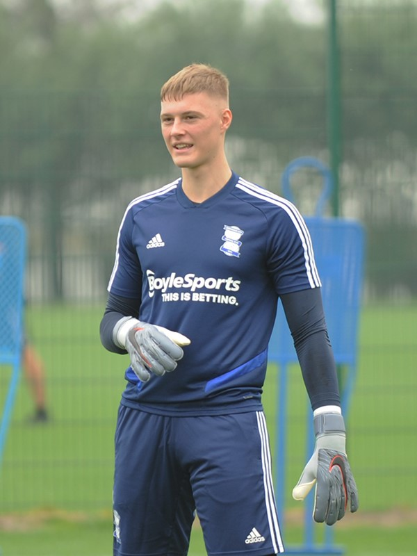 Zach Jeacock - goalkeeper - U23s