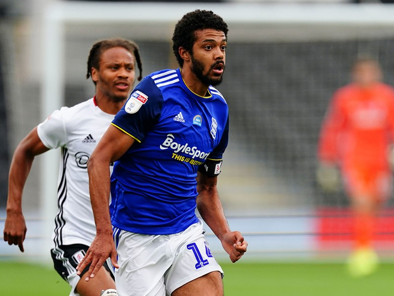 Jake Clarke-Salter in action against Fulham