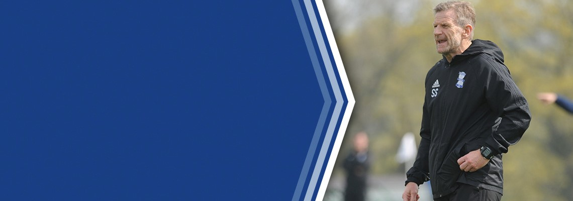 Blues Under-18s Coach Steve Spooner