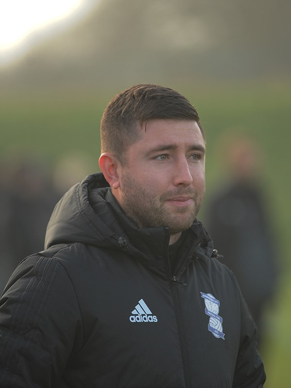 Karl Hooper - professional development phase coach - U18s