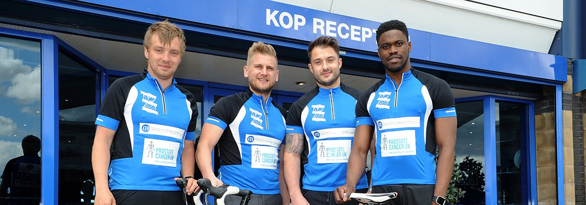 Blues Commercial Team Complete London To Amsterdam Prostate Cancer Challenge