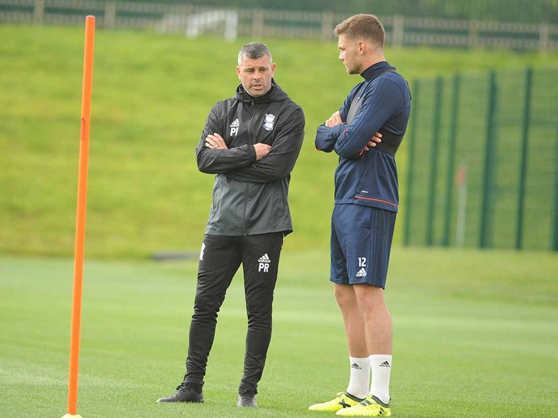 Paul Robinson with Harlee Dean