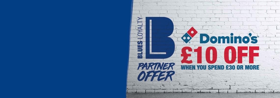 Birmingham Dominos 10 Off For Blues Loyalty Members