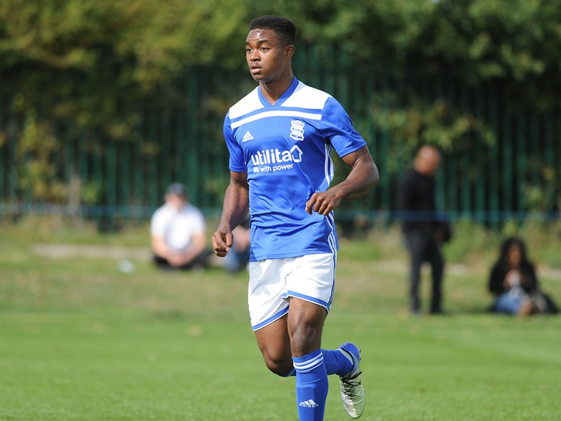 Adan George was on target twice for Blues Under-18s against QPR.