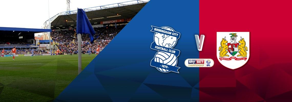 Blues v Bristol City ticket details