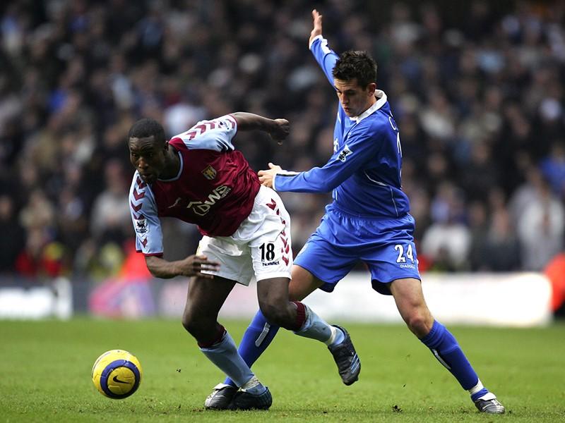 Darren Carter in action during Blues' last win in Aston.