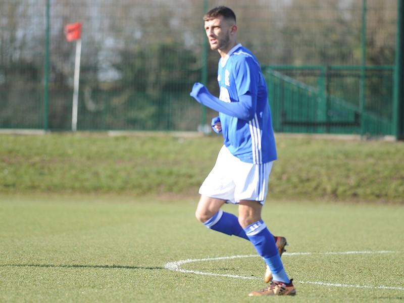 Jack Storer in action for Blues Under-23's against QPR.