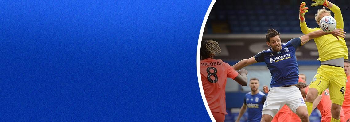 Lukas Jutkiewicz in action against Huddersfield.