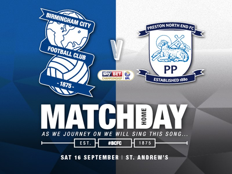 Blues v Preston North End