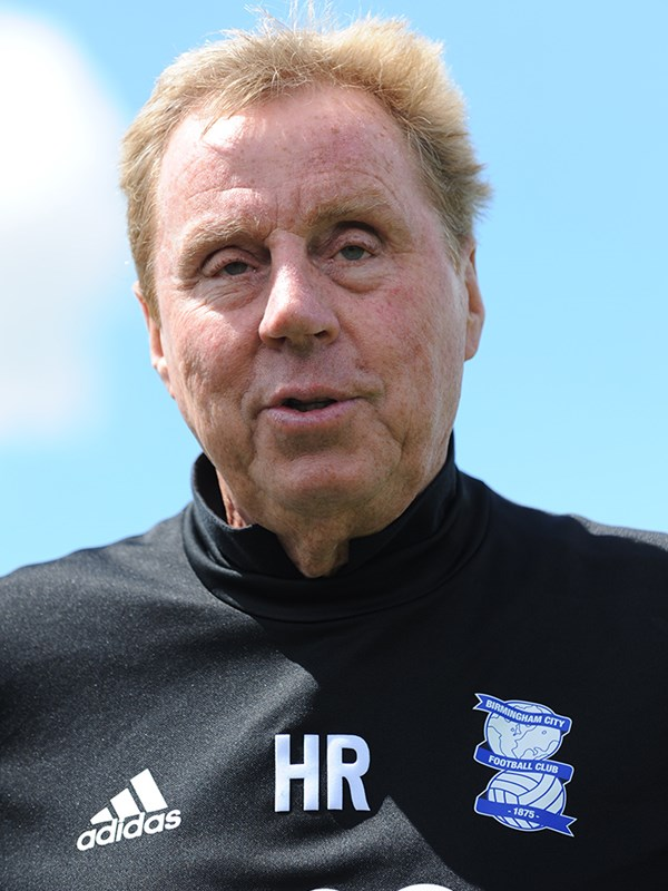 Harry  Redknapp - manager - First Team