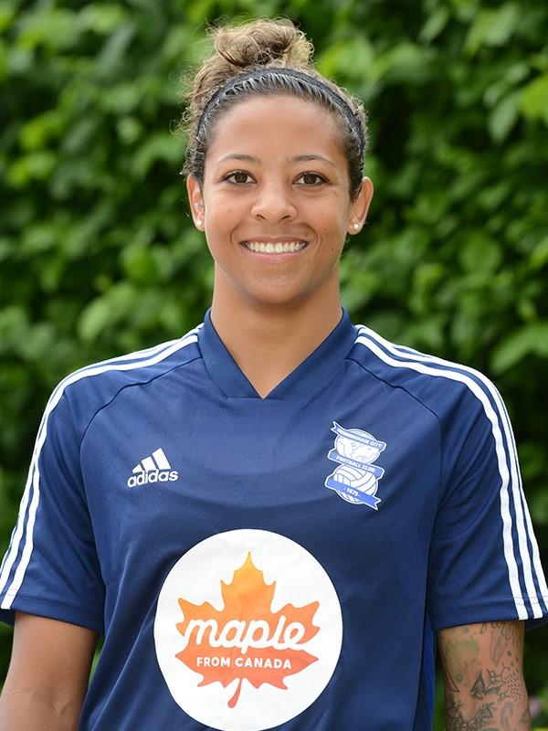 Adrienne Jordan - defender - Women's