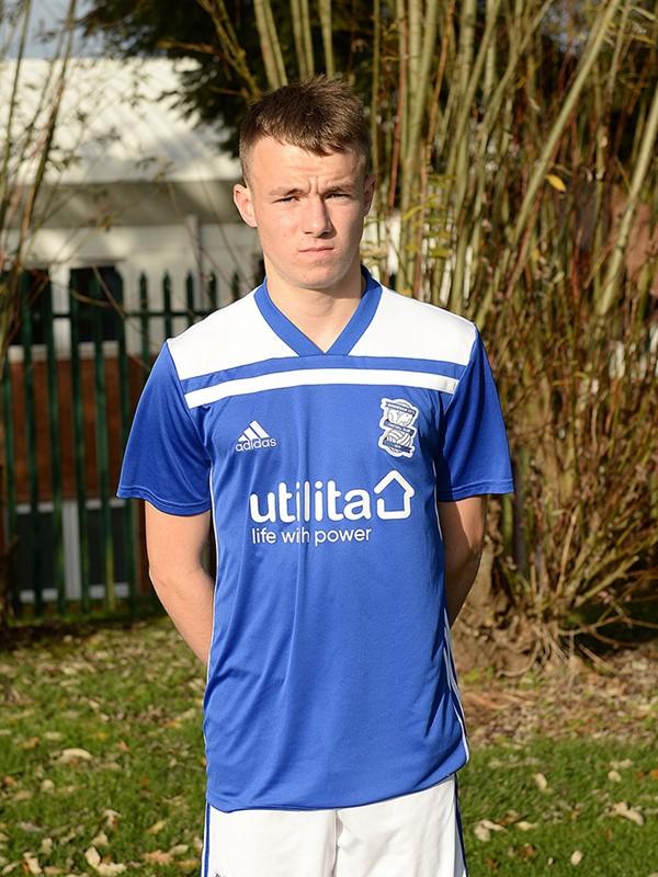 Kyle Hurst - midfielder - U18s