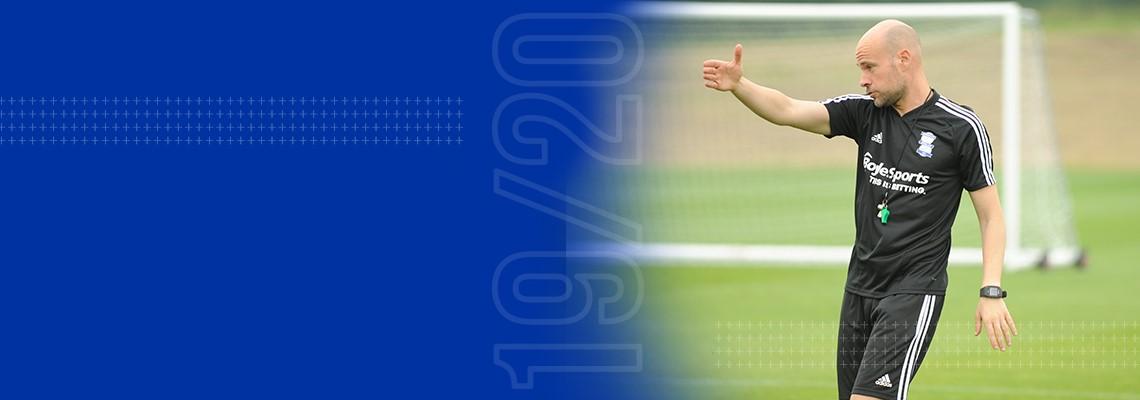 Blues Under-23s Head Coach Xavi Calm