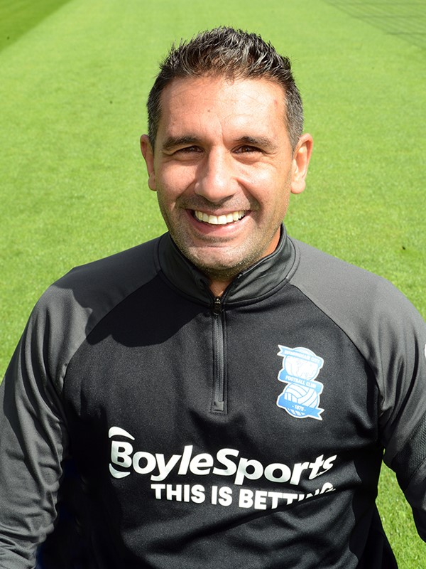 Carlos Luengo Pena - assistant head of analysis - Men's