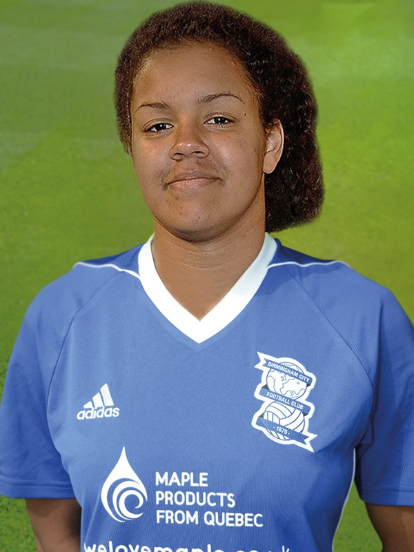 24 - Paris Mckenzie - midfielder - Ladies