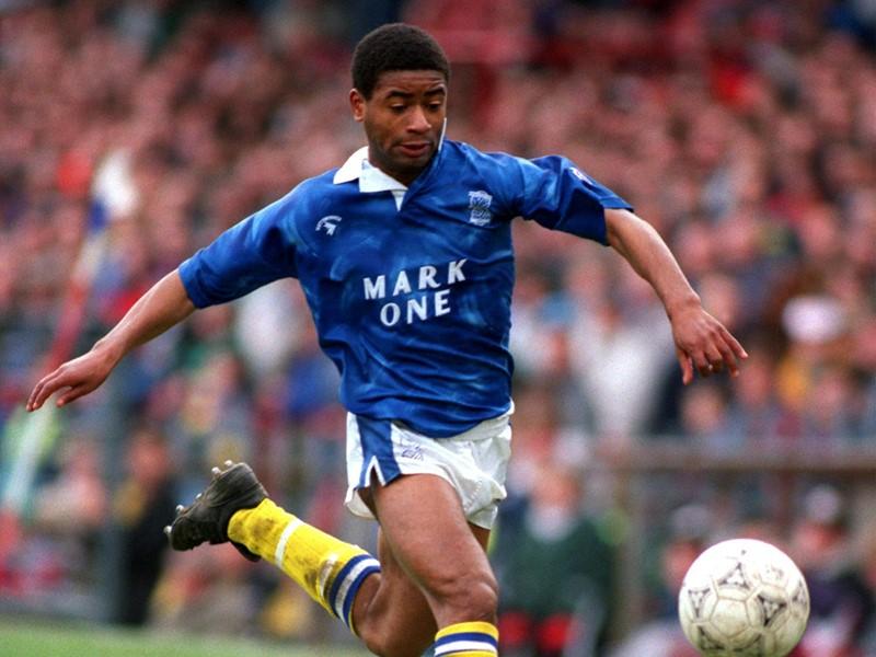 Simon Sturridge in action for Blues.