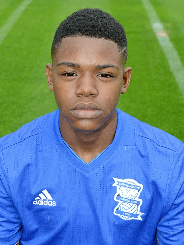 Tyrell Hamilton - forward - U18s
