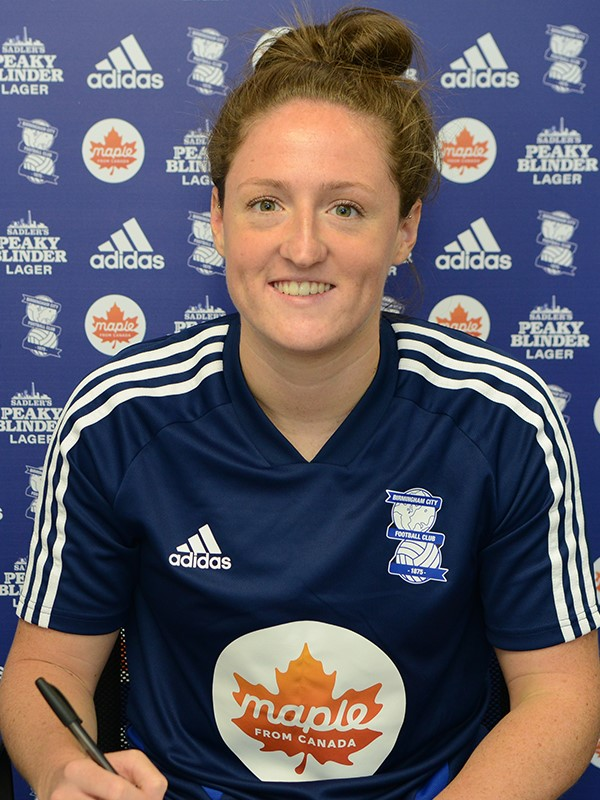 Rebecca Holloway - midfielder - Women's