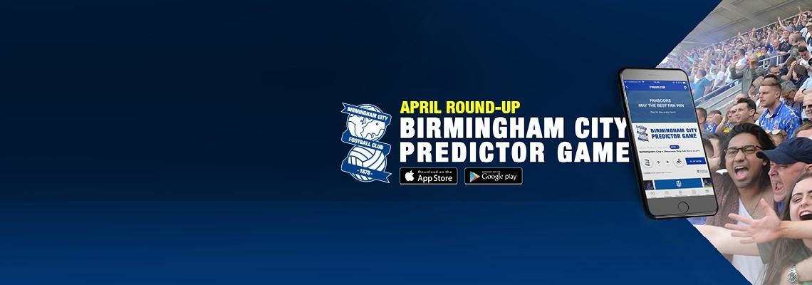 April Predictor Round-up