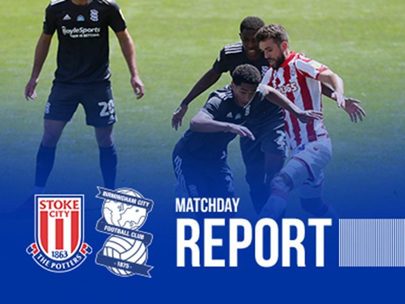 Jude Bellingham in action against Stoke City