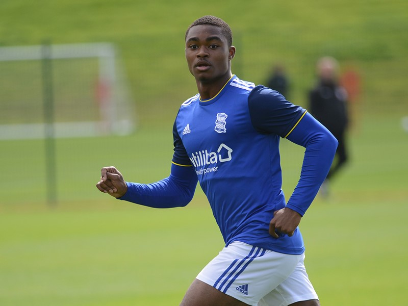 Adan George scored Blues' opener from the penalty spot.