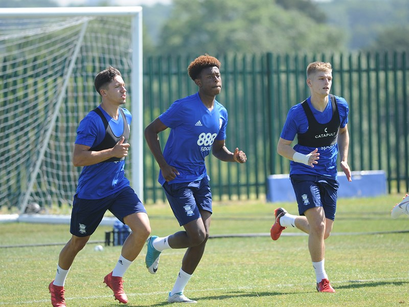 Blues Under-23s will take on Solihull Moors at the Trillion Trophy Training Centre.
