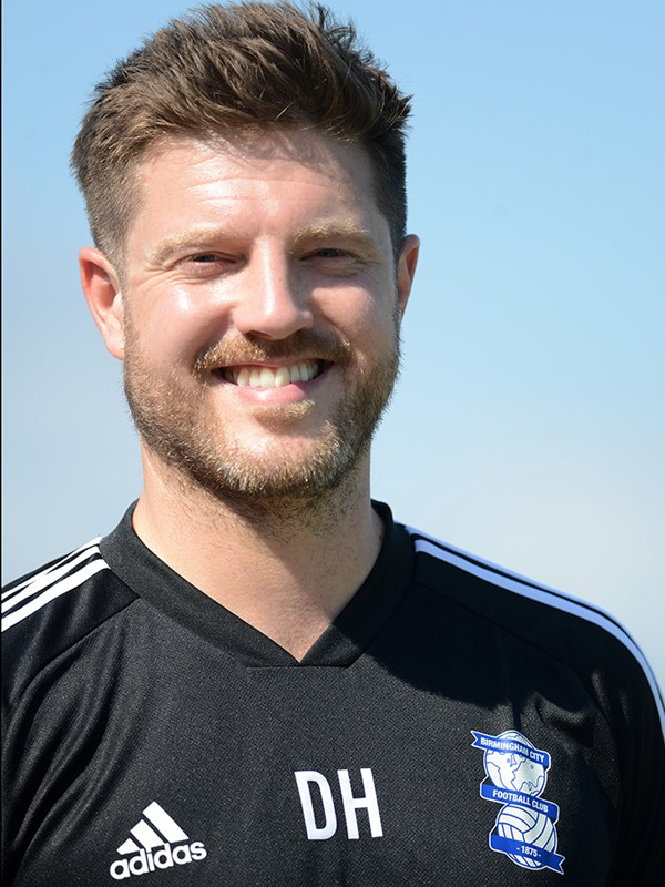 Dave Hunt - first team physiotherapist - Men's
