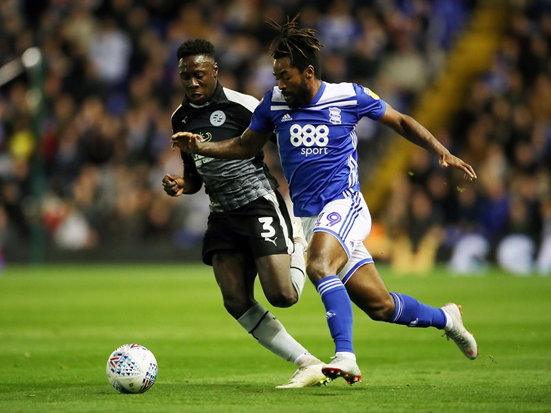 Jacques Maghoma in action against Reading.