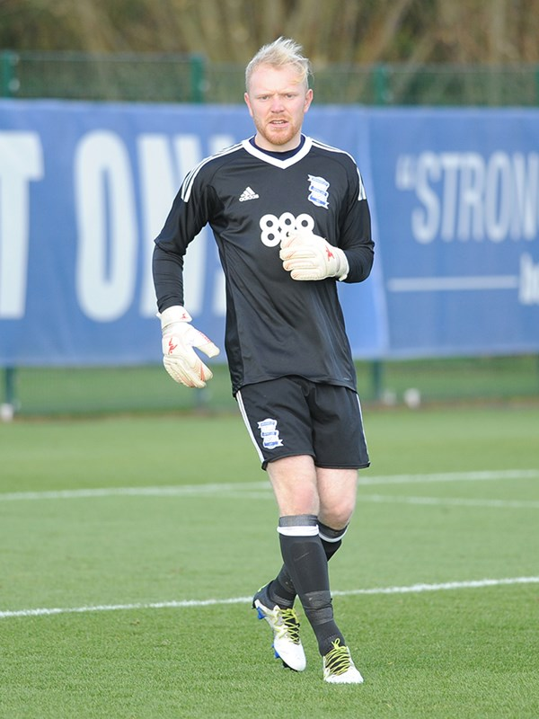 Jake Weaver - goalkeeper - U23s