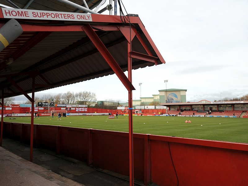 Tamworth's The Lamb Stadium.