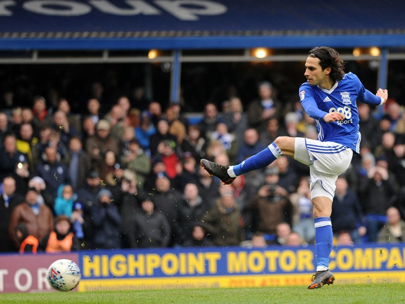 Jota fires home for Blues from the penalty spot.