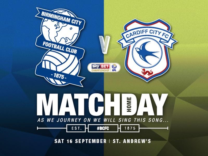 Blues v Cardiff City