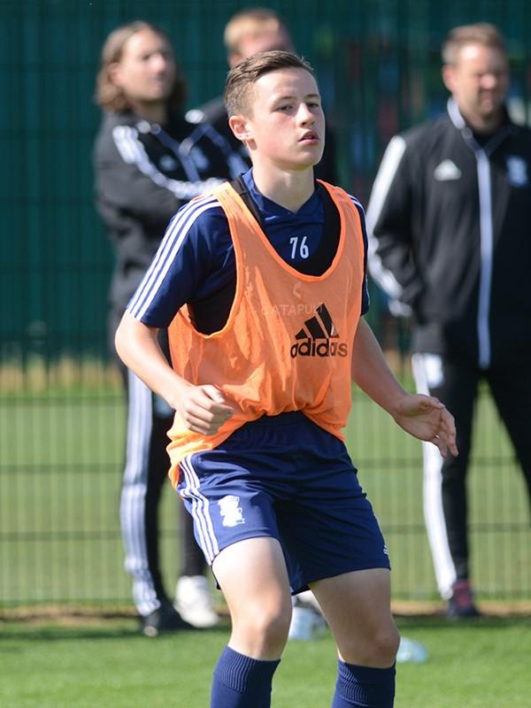 Aidan Finnegan - midfielder - U18s