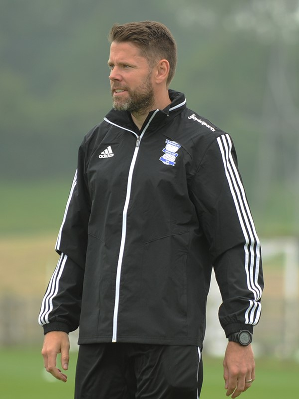 James  Beattie - first team coach - Men's
