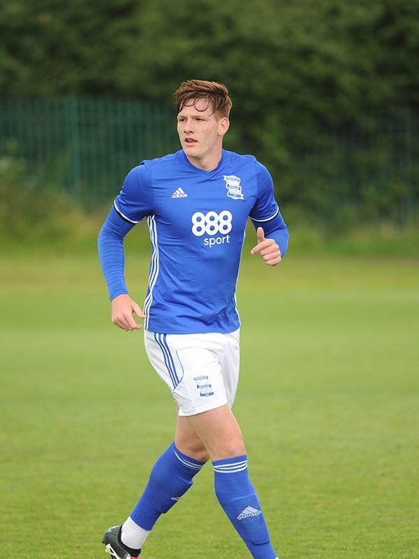 Luke Maxwell - midfielder - U23s