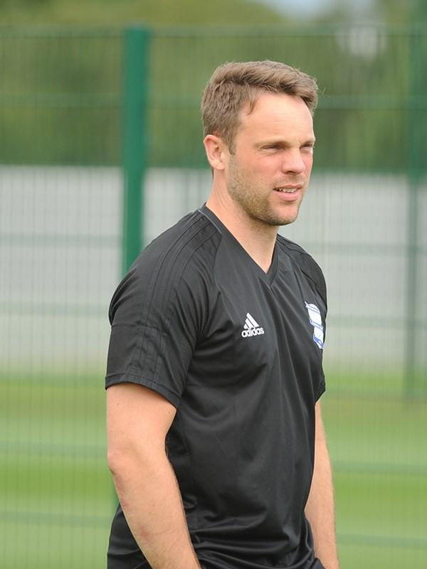 Kristjaan  Speakman - academy manager - U18s