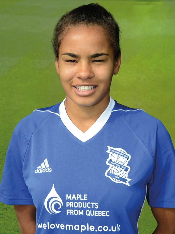 21 - Shania Hayles - midfielder - Ladies
