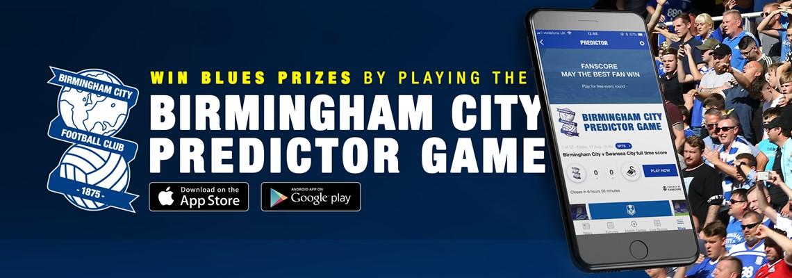 Blues Predictor Game | Birmingham City Football Club