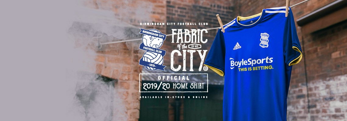 cdd3ac13385 Introducing the 2019/20 Blues home kit | Birmingham City Football Club