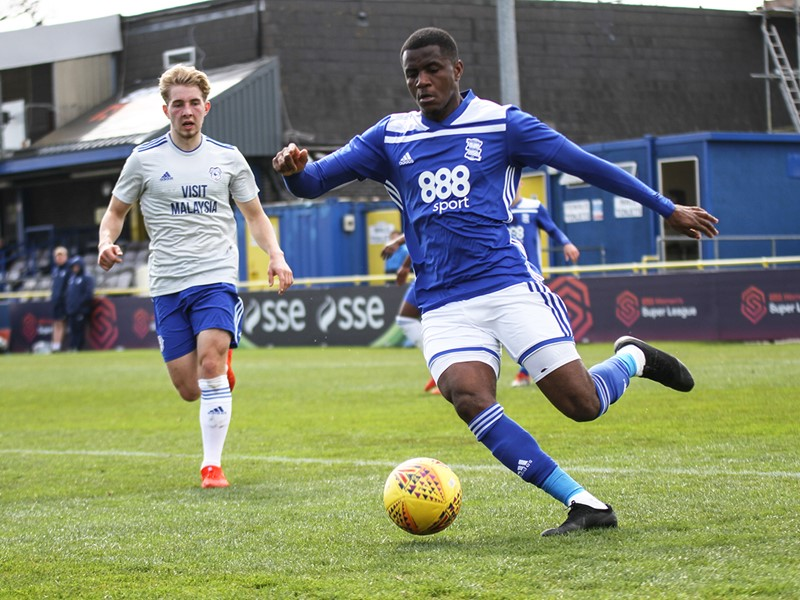 Blues' opening goalscorer against Cardiff - Bez Lubala.