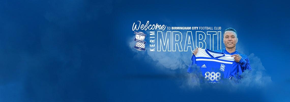 New signing Kerim Mrabti