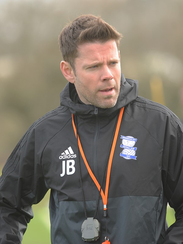 James  Beattie - first team coach - First Team