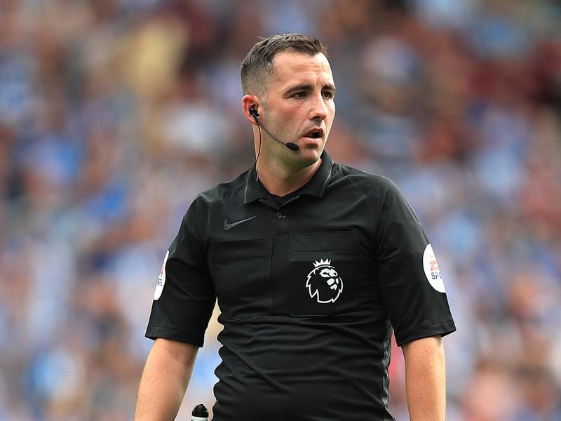 Referee Chris Kavanagh.