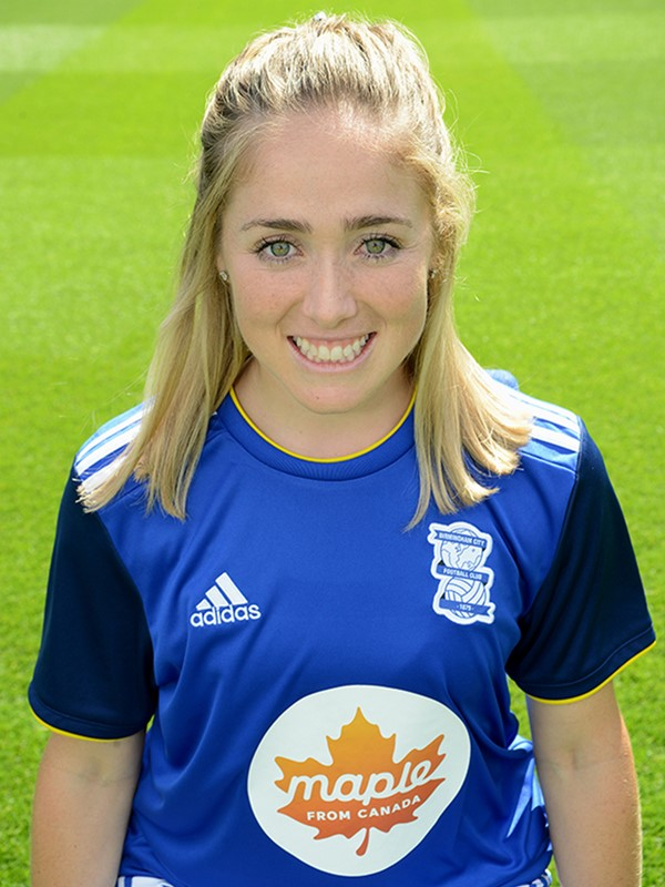 10 - Brianna Visalli - midfielder - Women's