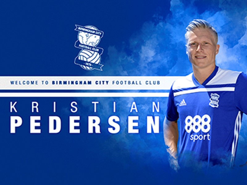 Garry Monk welcomes new signing Kristian Pedersen to the Club.